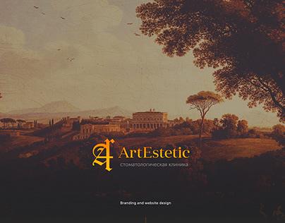 ArtEstetic dentistry. Branding and website design