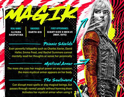 Fandom, Character Breakdown Infographics, Vol. 2