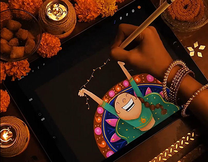 Video | Diwali Illustration