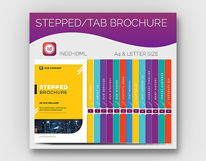 Stepped or Tab brochure