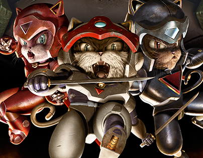 """ODE TO MY CHILDHOOD"" (Samurai Pizza Cats)"