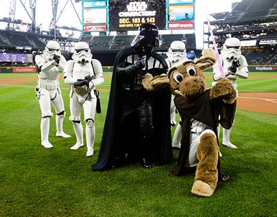 Seattle Mariners Star Wars Night 2017