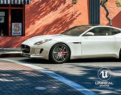Jaguar F-Type - Unreal Engine 4