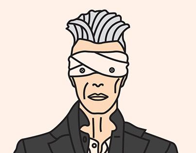 Cartoon Bowie