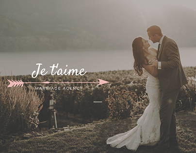 Landing Page for Marriage agency