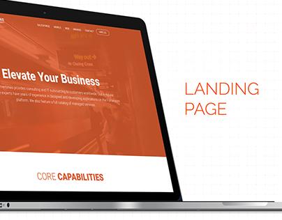 Landing page CT