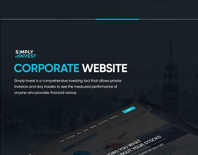 Simply Invest web design