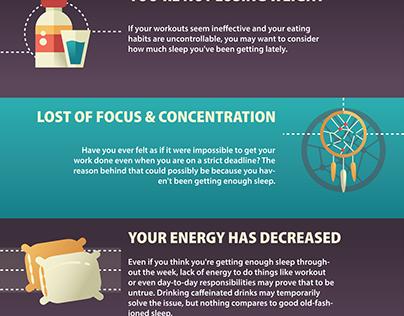 Signs You Need More Sleep Infographic