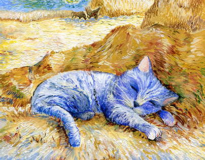 Cats In Different Art Style
