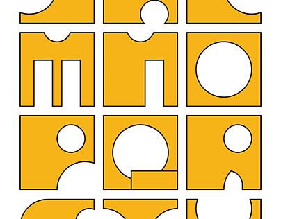 OSU-MFA-Custom Typeface/Motion Design