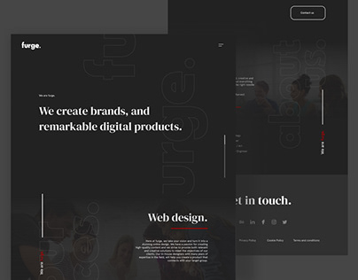 Portfolio Website - Furgestudio