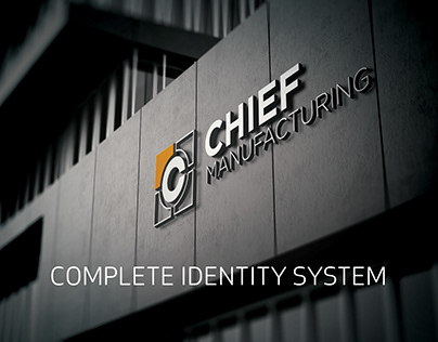 Chief Manufacturing - Identity + Brand Launch