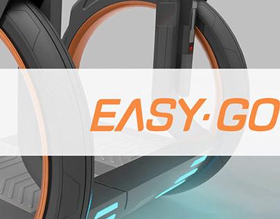 easy go 代步车及APP设计