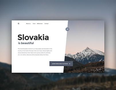 Slovakia Landing Page