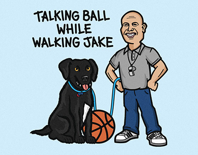 Talking Ball While Walking Jake