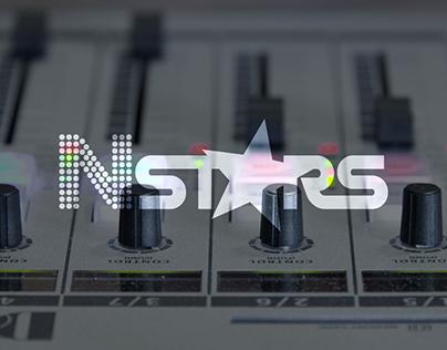 """Logo Concept for internet music forum """"N-Stars"""""""