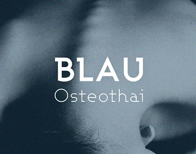 Identidad gráfica Blauosteothai