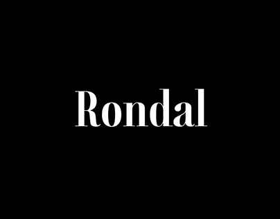 RONDAL - FREE FONT