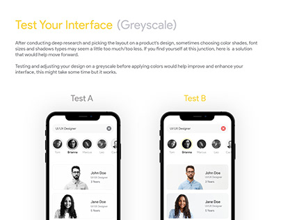Test your interface