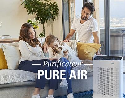 rowenta purificateur pure air