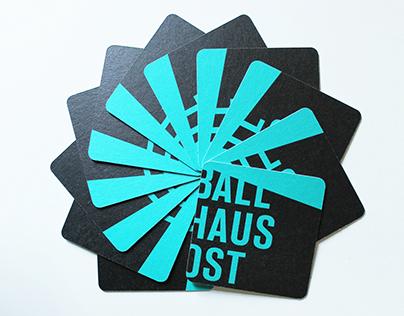 Corporate Design Entwurf Ballhaus Ost Berlin
