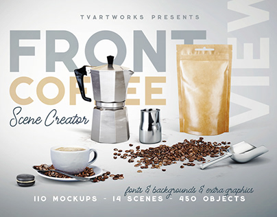 Coffee Scene Creator – Front View