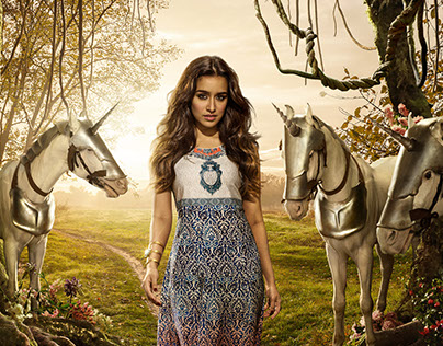 Imara Collection 2016 Feat. Shraddha Kapoor.