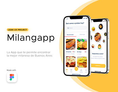 Milangapp - Lean UX Project