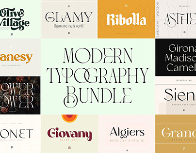 Modern Typography Bundle