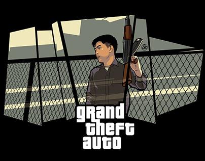 Grand Theft Auto Self Illustrations