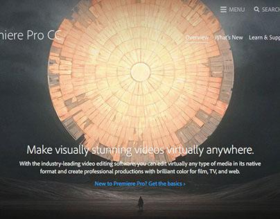 Adobe Premiere Pro CC Splash screen