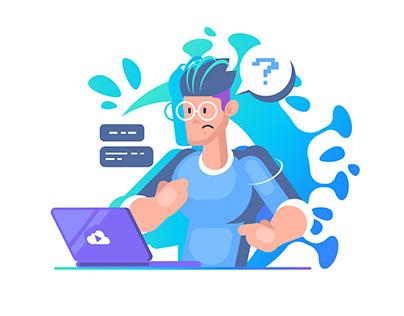 Tips for Developers. Illustration for KODEKLOUD