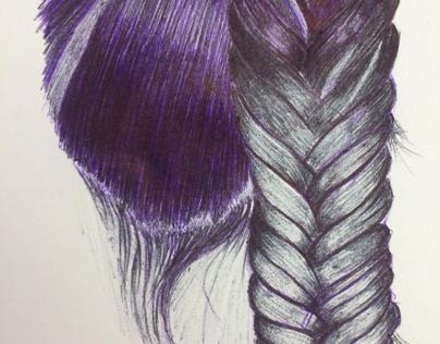 Drawing | Fishtail Braid