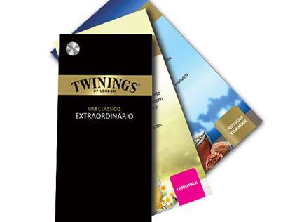 Carta de chás Twinings®