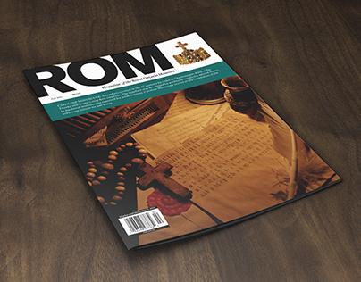 ROM Magazine Cover Design