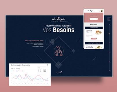 The buyer - Market Place et web design