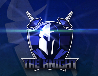 """Free Download eSport or Gaming Logo """"The Knight"""""""