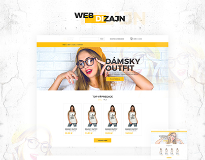 Fashion - webdizajn