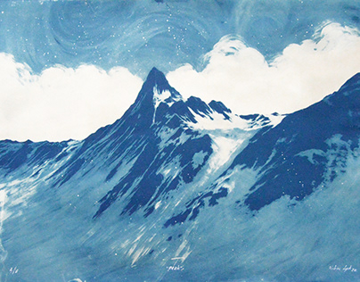 Cyanotype peaks