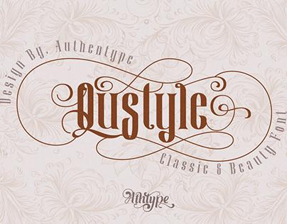 Qustyle Classic Font