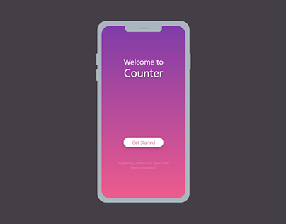 UI DESIGN FOR AN ANDROID APP