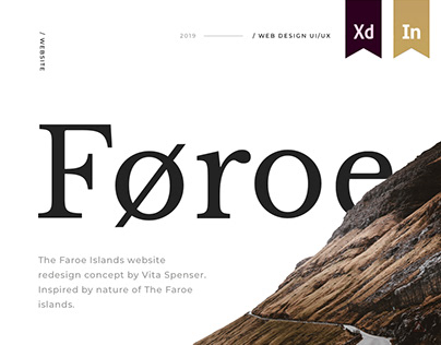 The Faroe Islands Website Concept