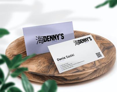 Denny's Bags Kartvizit Çalışması