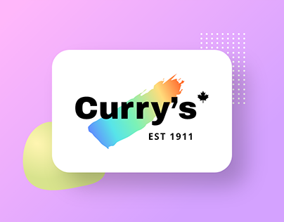 Curry's   Redesign