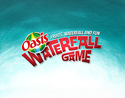 Oasis Waterfall website and game