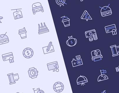 Freebie: Birply icon set (40 items)