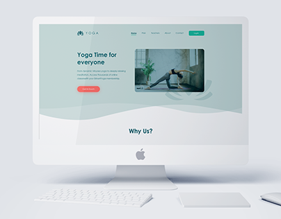 Yoga Web Design
