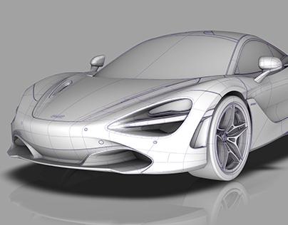 McLaren 720s | Modelling