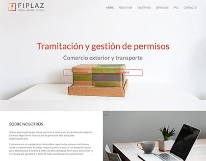 SITIO WEB FIPLAZ