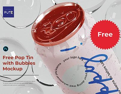 Free Tin PSD Mockup